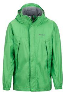 Boy's PreCip Jacket, Emerald, medium