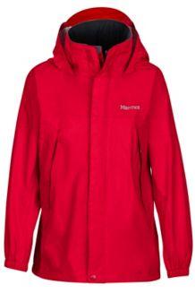 Boy's PreCip Jacket, Team Red, medium