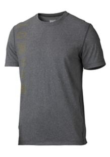 Impact Tee SS, Slate Grey Heather, medium