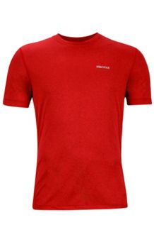 Conveyor Tee SS, True Team Red Heather, medium
