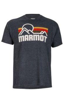 Marmot Coastal Tee SS, New Charcoal Heather, medium