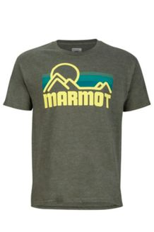 Marmot Coastal Tee SS, Olive Heather, medium