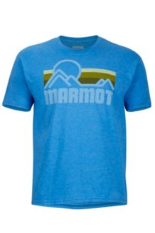 Marmot Coastal Tee SS, True Royal Heather, medium