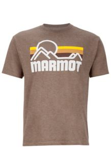 Marmot Coastal Tee SS, True Brown Heather, medium