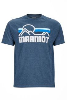 Marmot Coastal Tee SS, True Navy Heather, medium