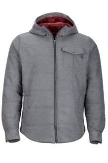 Banyons Insulated Hoody, Slate Grey Heather, medium