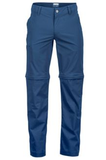Transcend Convertible Pant L, Dark Indigo, medium