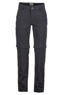 Transcend Convertible Pant S, Black, medium