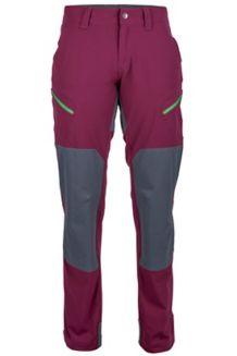 Wm's Limantour Pant, Dark Purple/Dark Steel, medium