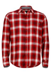 Fairfax Flannel LS, Fire, medium