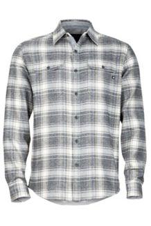 Jasper Flannel LS, Slate Grey, medium