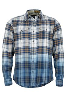 Dillion Flannel LS, Vintage Navy, medium
