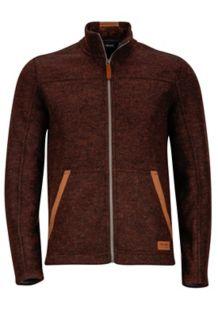 Bancroft Jacket, Dark Brown Heather, medium