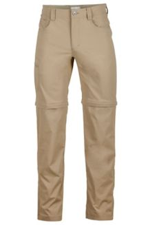 Transcend Convertible Pant L, Desert Khaki, medium
