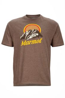 Pikes Peak Tee SS, Brown Heather, medium