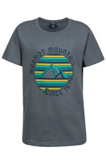Boy's Purview Tee SS, Grey Storm, medium