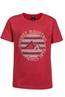 Boy's Purview Tee SS, Team Red, medium