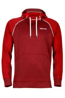 Cottonwood Hoody, Port/Fire, medium