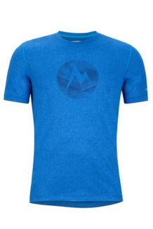 Transporter Tee SS, French Blue Heather, medium