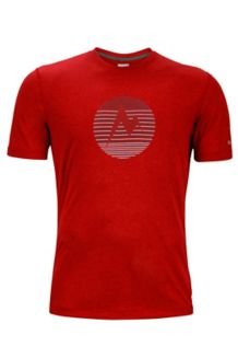 Transporter Tee SS, Team Red Heather, medium