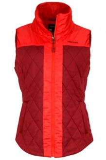 Wm's Abigal Vest, Madder Red/Scarlet Red, medium