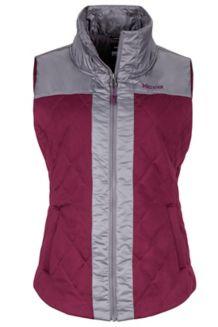 Wm's Abigal Vest, Dark Purple/Winter Stone, medium