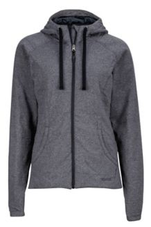 Wm's Corey Hoody, Black, medium