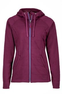 Wm's Corey Hoody, Dark Purple, medium