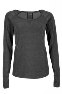 Wm's Helen LS, Black, medium