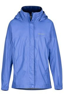 Girl's PreCip Jacket, Lilac, medium