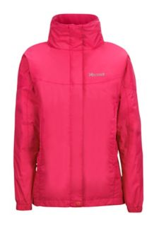 Girl's PreCip Jacket, Pink Rock, medium