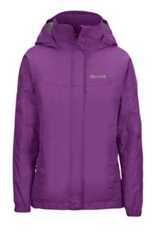 Girl's PreCip Jacket, Mystic Purple, medium