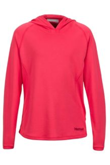 Girl's Kylie Hoody, Hibiscus, medium