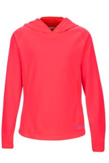 Girl's Kylie Hoody, Bright Pink, medium