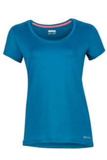 Wm's All Around Tee SS, Slate Blue, medium