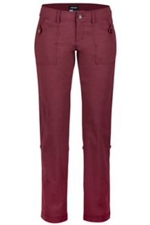 Wm's Ginny Pant, Port, medium