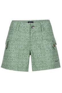 Wm's Ginny Short, Stone Green Ikat, medium