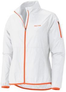 Wm's Trail Wind Jacket, White, medium