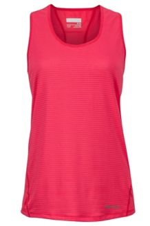 Wm's Aero Tank, Hibiscus, medium