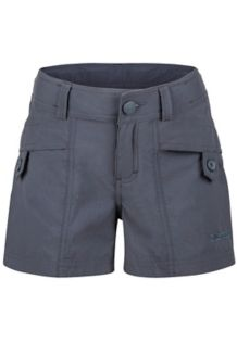 Girl's Ginny Short, Dark Steel, medium