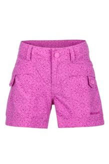 Girl's Ginny Short, Neon Berry Barcelona, medium