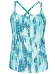 Wm's Camille Tank, Gem Green Leaf, medium