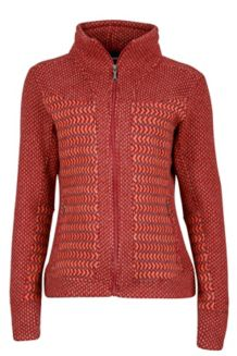 Wm's Gwen Sweater, Madder Red, medium