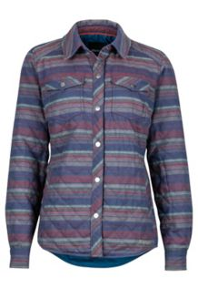 Wm's Riley Insulated LS, Denim, medium