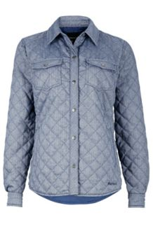 Wm's Riley Insulated LS, Arctic Navy, medium
