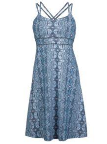Wm's Taryn Dress, Dark Steel Tapestry, medium