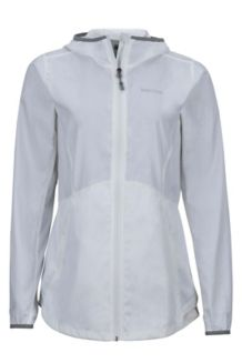 Wm's Trail Wind Hoody, White, medium