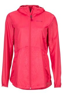 Wm's Trail Wind Hoody, Hibiscus, medium