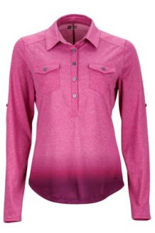 Wm's Allie LS, Bright Fuchsia, medium