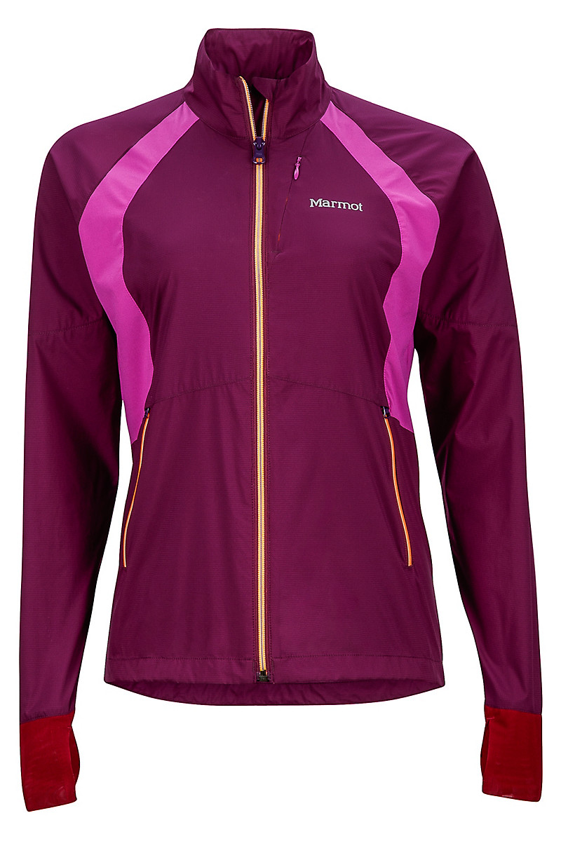 Wm's Hyperdash Jacket, Deep Plum/Neon Berry, large